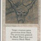 Black Ward - VG - 4th Edition - Magic the Gathering