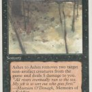 Ashes to Ashes - VG - 4th Edition - Magic the Gathering