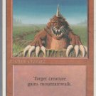 Burrowing - VG - 4th Edition - Magic the Gathering