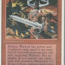 Keldon Warlord - VG - 4th Edition - Magic the Gathering