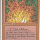 Wall of Fire - VG - 4th Edition - Magic the Gathering