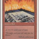 Wall of Fire - VG - 5th Edition - Magic the Gathering