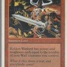 Keldon Warlord - VG - 5th Edition - Magic the Gathering