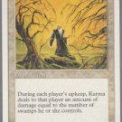 Karma - VG - 5th Edition - Magic the Gathering