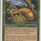 Johtull Wurm - VG - 5th Edition - Magic the Gathering