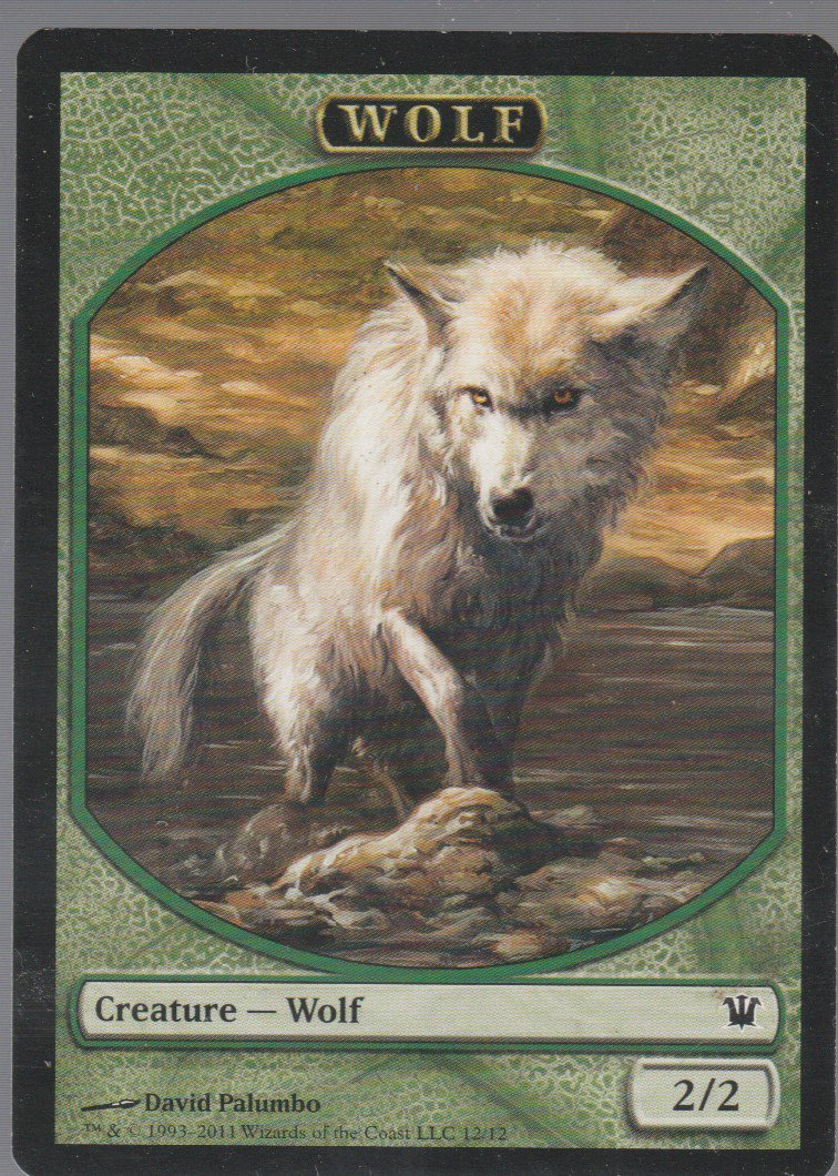 Wolf - NM - Innistrad - Magic the Gathering