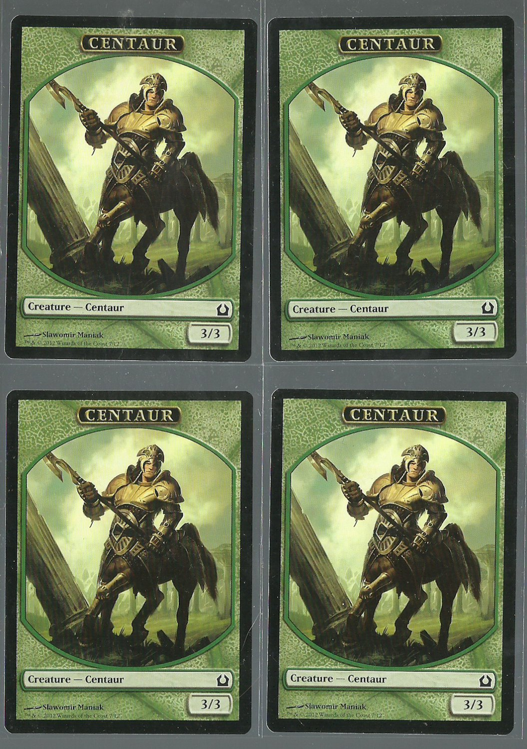 Centaur x4 - NM - Return to Ravnica - Magic the Gathering