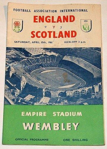 ENGLAND v SCOTLAND - 15.APR.61 - Football Programme