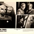 "STAR TREK : DEEP SPACE NINE : Show 487 ""The Sons Of Mogh"" 2x publicity photos"