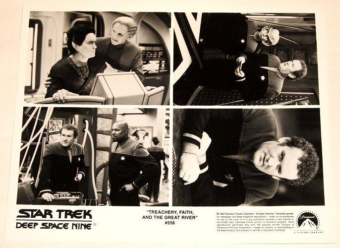 """STAR TREK : DEEP SPACE NINE : Show 556 """"Treachery, Faith, And The Great River"""" publicity photo"""