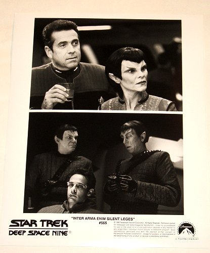 """STAR TREK : DEEP SPACE NINE : Show 565 """"Inter Arma Enim Silent Leges"""" publicity photo"""