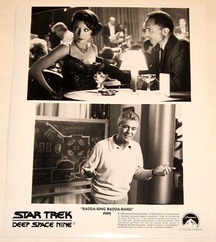 """STAR TREK : DEEP SPACE NINE : Show 566 """"Badda-Bing Badda Bang"""" publicity photo"""