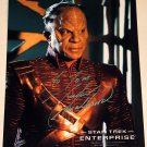 STAR TREK Tucker Smallwood signed picture as a Zindi Primate from Star Trek Enterprise