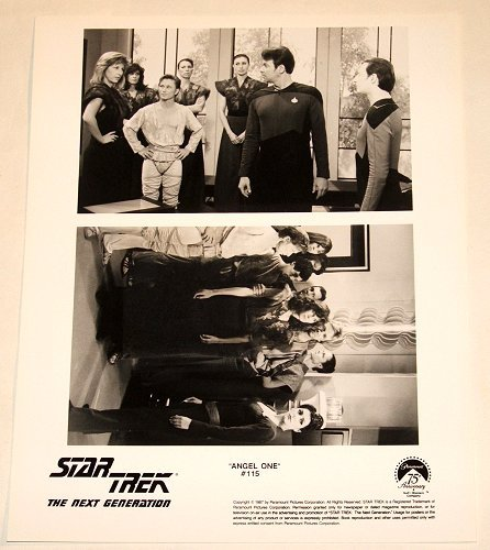"STAR TREK : NEXT GENERATION : Show 115 ""Angel One"" publicity photo"