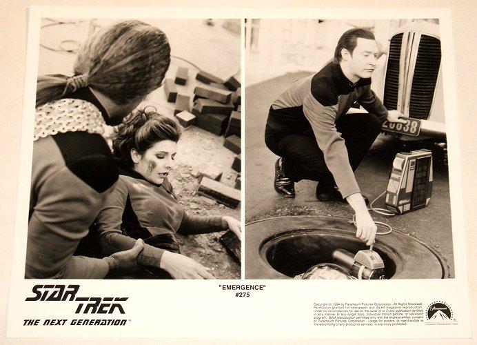 "STAR TREK : NEXT GENERATION : Show 275 ""Emergence"" publicity photo"