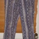 Ladies Michael Kors Snakes Skin Design Pants