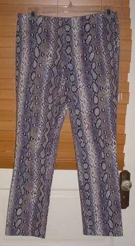 Ladies Michael Kors Snakes Skin Design Pants