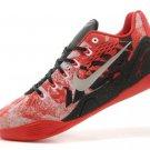 Mens Nike 646701-882 Kobe 9 EM Low Red White Black