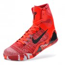 Nike Kobe 9 Christmas Knit Stocking Bright Crimson Black-White 630847-600