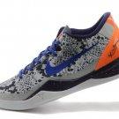 Cheap Nike Kobe VIII 8 System ZK8 2014 Black White Purple Basketball Shoes Sale