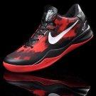 Nike Zoom Kobe 8 VIII Shoes Black Red