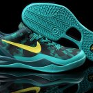 Nike Zoom Kobe 8 VIII Shoes Cyan Black Yellow