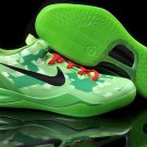 Nike Zoom Kobe 8 VIII Shoes Green Black Red