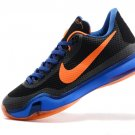 2015 new Nike Zoom Kobe X (10) black blue orange men basketball shoes