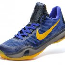 2015 new Nike Zoom Kobe X (10) men basketball shoes purple yelow black