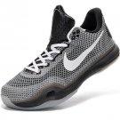 2015 Nike Zoom Kobe X EM XDR (10) men basketball shoes grey white