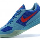 NIKE KB MENTALITY kobe 10 men basketball shoes blue red