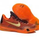 705317 676 Nike Zoom Kobe X (10) orange women basketball shoes