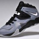 Nike LeBron 7 VII Soldier Grey Black mens basketball shoes