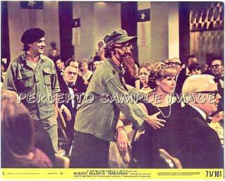 BANANAS  ~ Ex-Cond '71 Color Movie Photo ~ Disguised:  WOODY ALLEN