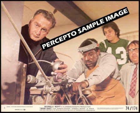 BANK SHOT ~ Orig '74 Color Movie Photo #4 ~ GEORGE C SCOTT