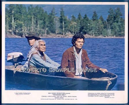 The BEARS AND I ~ '74 Disney Movie Photo ~ CHIEF DAN GEORGE / PATRICK WAYNE