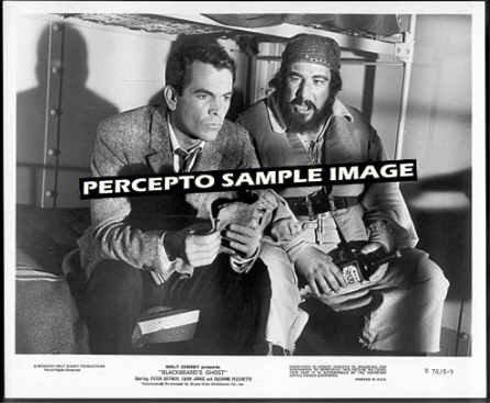 BLACKBEARD'S GHOST ~ '76 DISNEY Movie Photo ~ Jailed:  DEAN JONES / PETER USTINOV