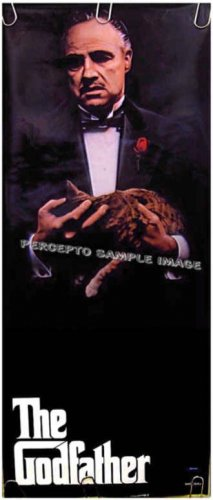 MARLON BRANDO  Rare '86 Portrait Poster  The GODFATHER