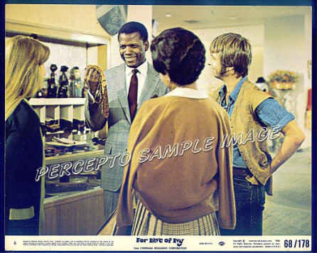 FOR LOVE OF IVY ~ '68 Movie Photo ~ SIDNEY POITIER / JEFF BRIDGES / ABBEY LINCOLN