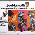 C C AND COMPANY ~ '70 Half-Sheet BIKER GANG Movie Poster ~  Ann MARGRET / Joe NAMATH / CYCLES