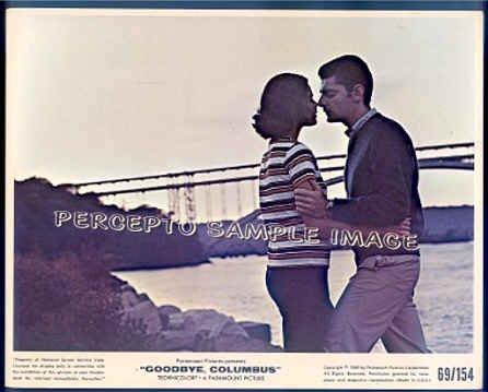 GOODBYE, COLUMBUS ~  '69 Color Movie Photo ~  RICHARD BENJAMIN / ALI MacGRAW