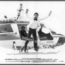 HOOPER ~  '78 STUNTMAN Movie Photo ~ Helicopter Jump / BURT REYNOLDS