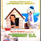 SHAGGY D A   ~ Rare Size '77 40x60 WALT DISNEY Movie Poster ~  DEAN JONES / SUZANNE PLESHETTE