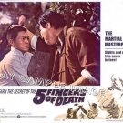 5 FINGERS OF DEATH  ~ Ex-Cond '73 Martial Arts Movie Lobby Card #5