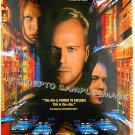 The FIFTH ELEMENT ~ '97 Sci-Fi 1-Sheet Movie Poster ~  BRUCE WILLIS / GARY OLDMAN / MILLA JOVOVICH