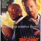 LAST BOY SCOUT ~  '91 1-Sheet Movie Poster ~  BRUCE WILLIS / DAMON WAYANS / FOOTBALL THRILLER