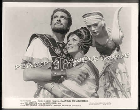 JASON & THE ARGONAUTS - '63 Photo! - HONOR BLACKMAN Figurehead