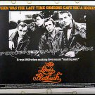 LORDS OF FLATBUSH ~ '74 Half-Sheet Movie Poster! ~ HENRY WINKLER / SYLVESTER STALLONE / PERRY KING