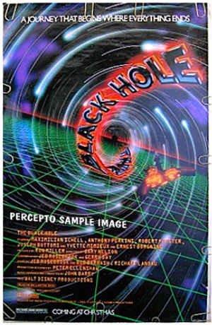 BLACK HOLE ~ '79 Sci-Fi 1-Sheet Movie Poster ~ MAXIMILIAN SCHELL / ANTHONY PERKINS / YVETTE MIMIEUX
