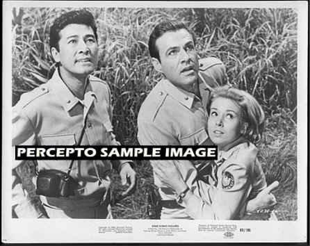 KING KONG ESCAPES ~ Orig '68 TOHO Studios Movie Photo ~ RHODES REASON / AKIRA TAKARADA